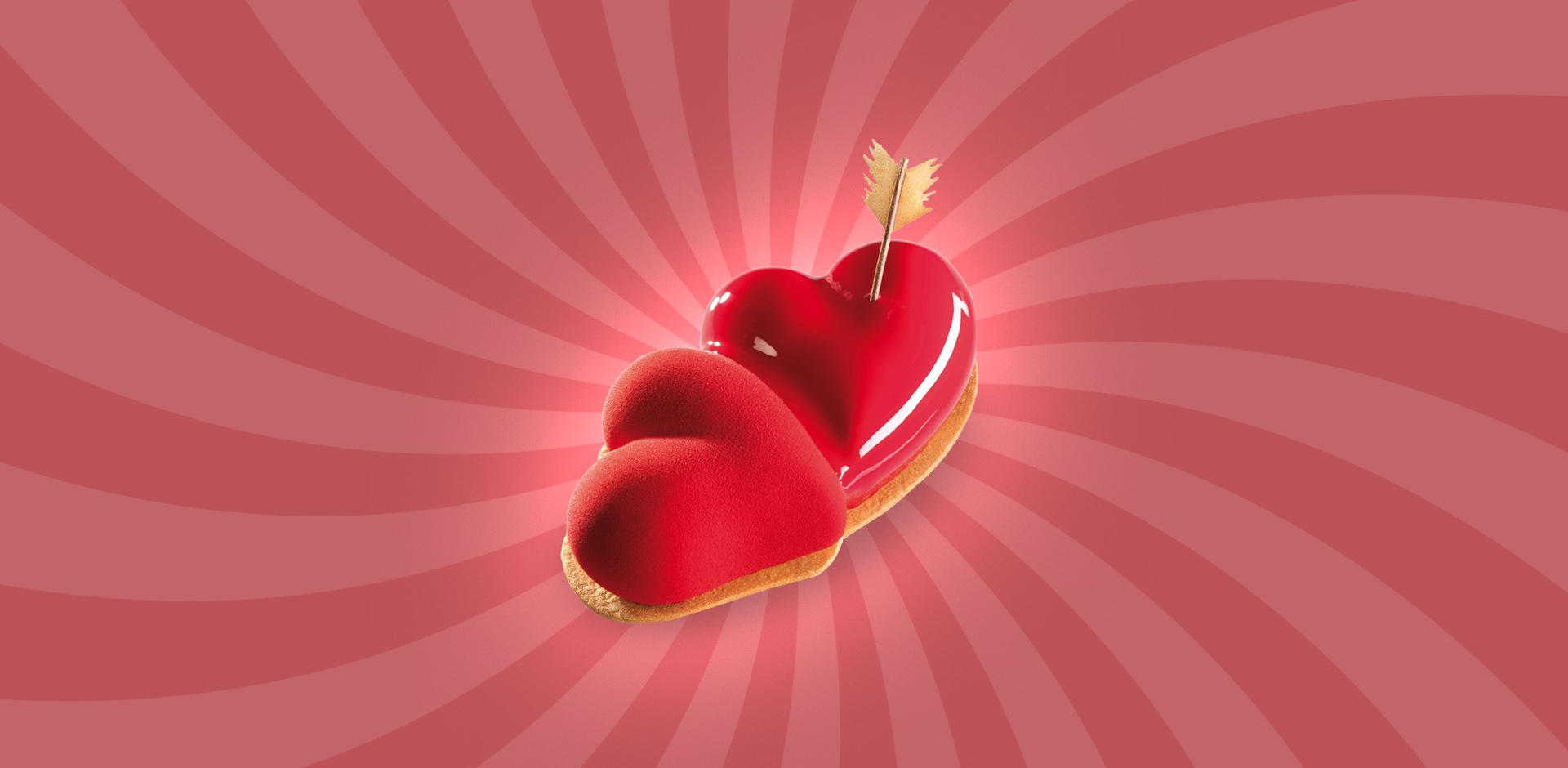 choklad alla hjärtans dag