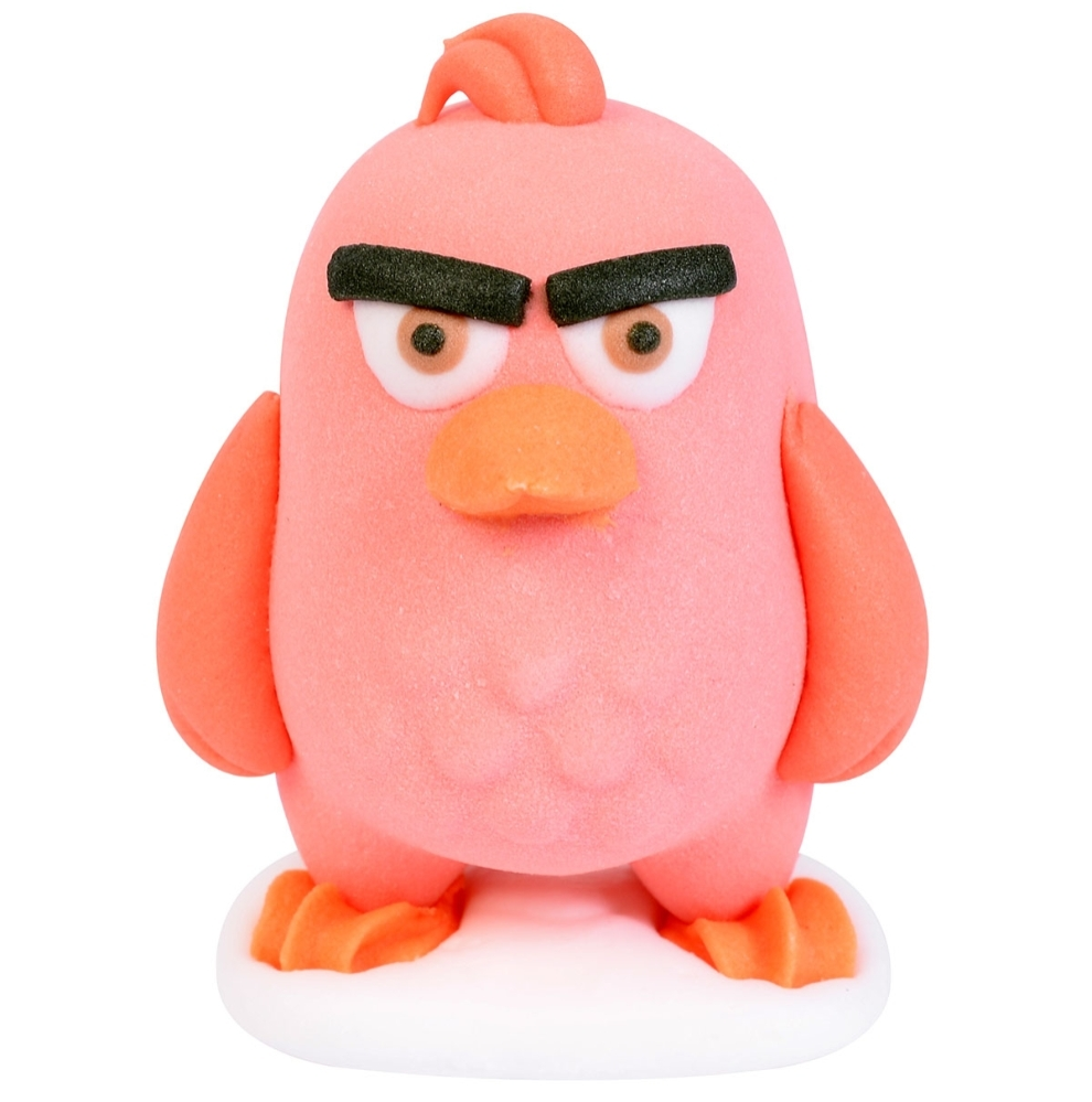 Kristyrfigurer, Angry Birds 3D, ca 35x43 mm (24 st)