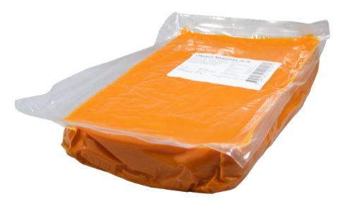 Marsipan, orange, 25/75 (2,5 kg)
