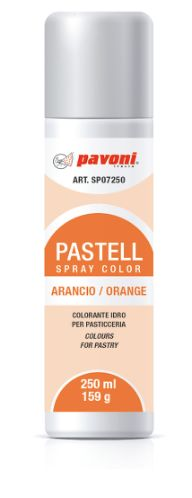 Pavoni, Pastell sprayfärg, orange, 150 ml