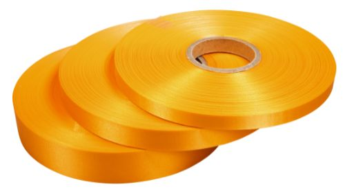 Tygband, Orange, 10 mm x 100 m