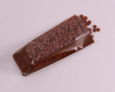 Cellofanpåse med botten, Chocolate, 68x45x260 mm (100 st)