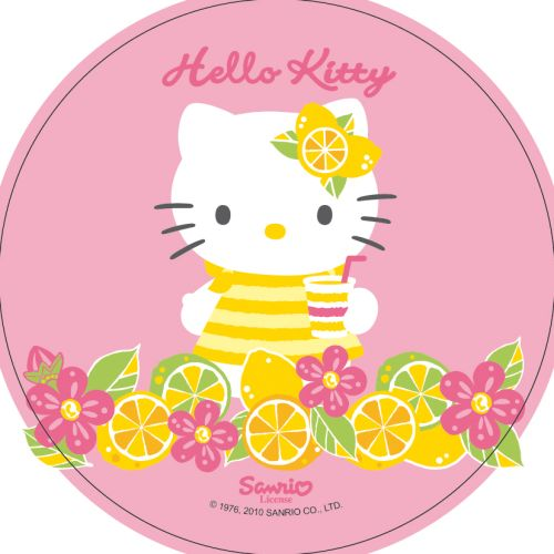 Oblat, Hello Kitty, d: 210 mm (12 st)