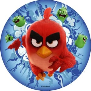 Oblat, Angry Birds, d: 210 mm (12 st)