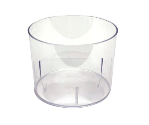 Plastglas, Bodeglass, d: 78 mm, h: 56 mm, 22 cl (300 st)
