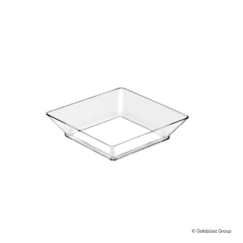 Plastfat, Small Plate, transparent, 65 mm (750 st)