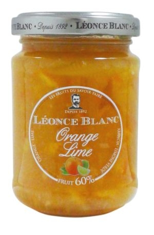 Léonce Blanc Orange & Lime Jam 60%, 205 g (6 st)